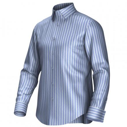 Chemise bleu/blanc 54284