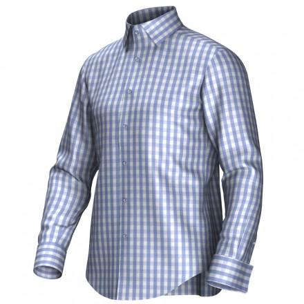 Chemise bleu/blanc 53193