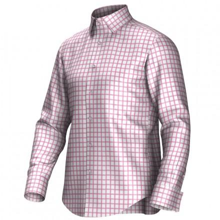 Chemise blanc/rose 53297
