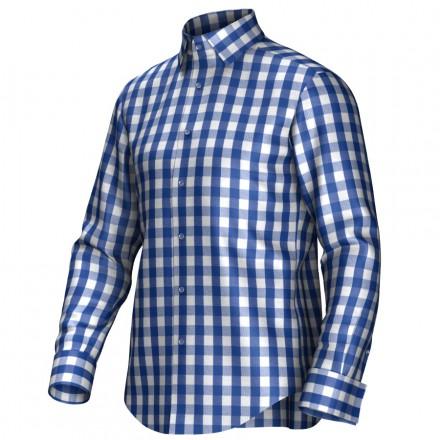 Chemise bleu/blanc 55297